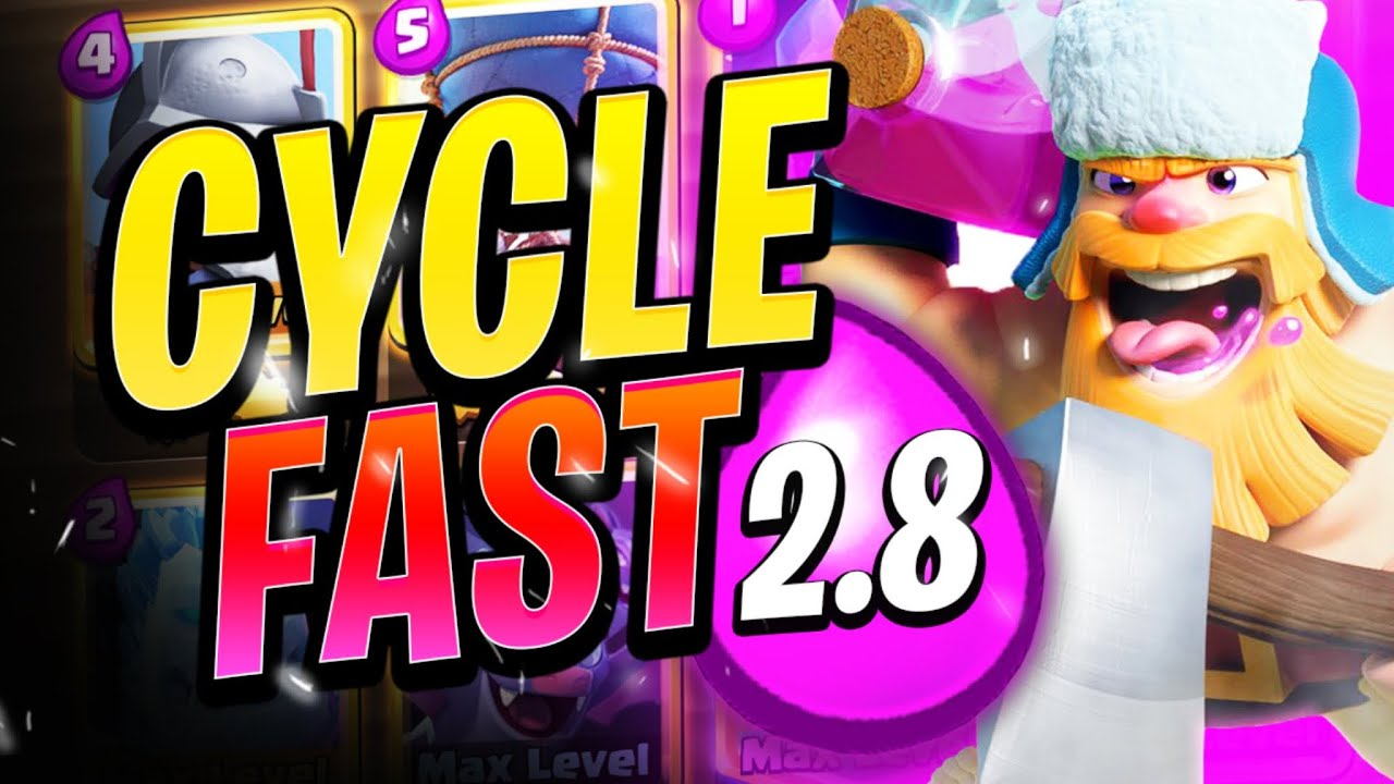 Cycle gameplay that makes me feel blessed | Clash Royale