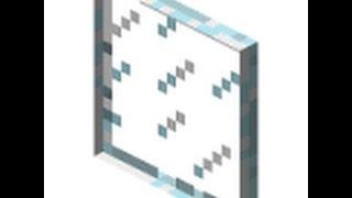 Как скрафтить стеклянную панель.(Серия №9)