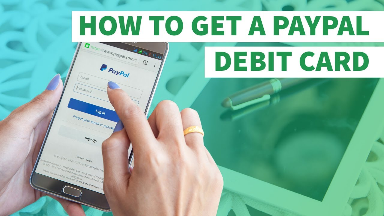 HOW TO GET A FREE PREPAID PAYPAL DEBIT CARD (LINK IN ...