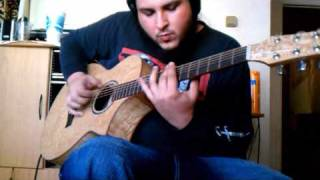 antoine dufour spiritual groove acoustic guitar cover by kenny giron kg