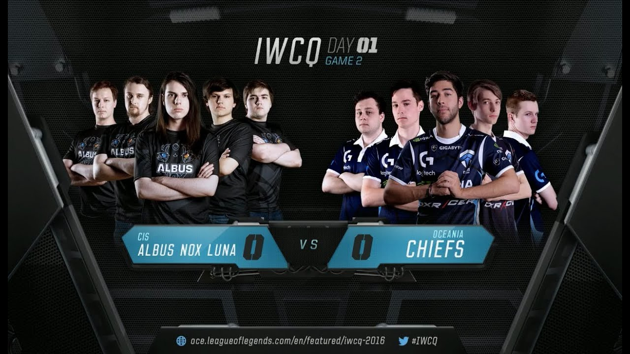 ANX vs CHF Highlights IWCQ 2016 Day 1 Albus Nox Luna vs The Chiefs - YouTube