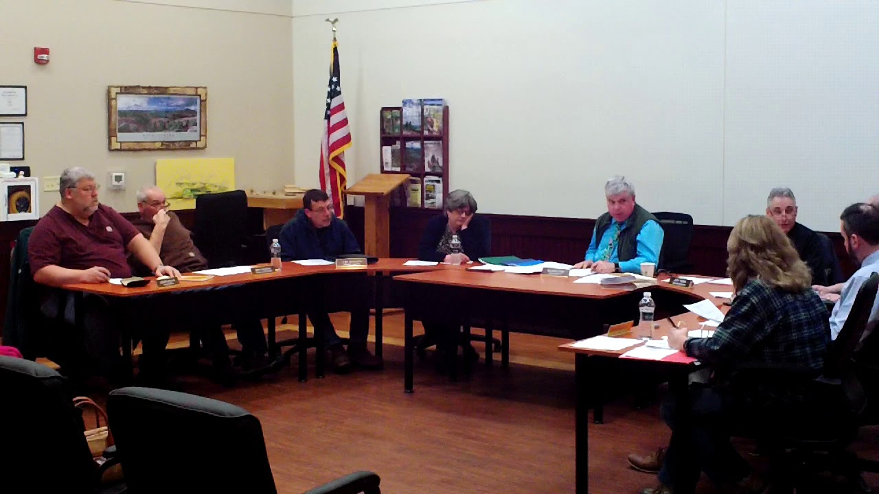 Dannemora Town Board Meeting  1-22-20