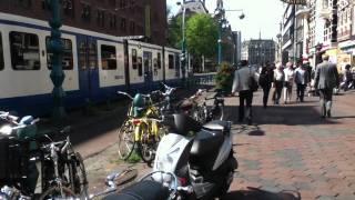 A Sunny Walk In Amsterdam