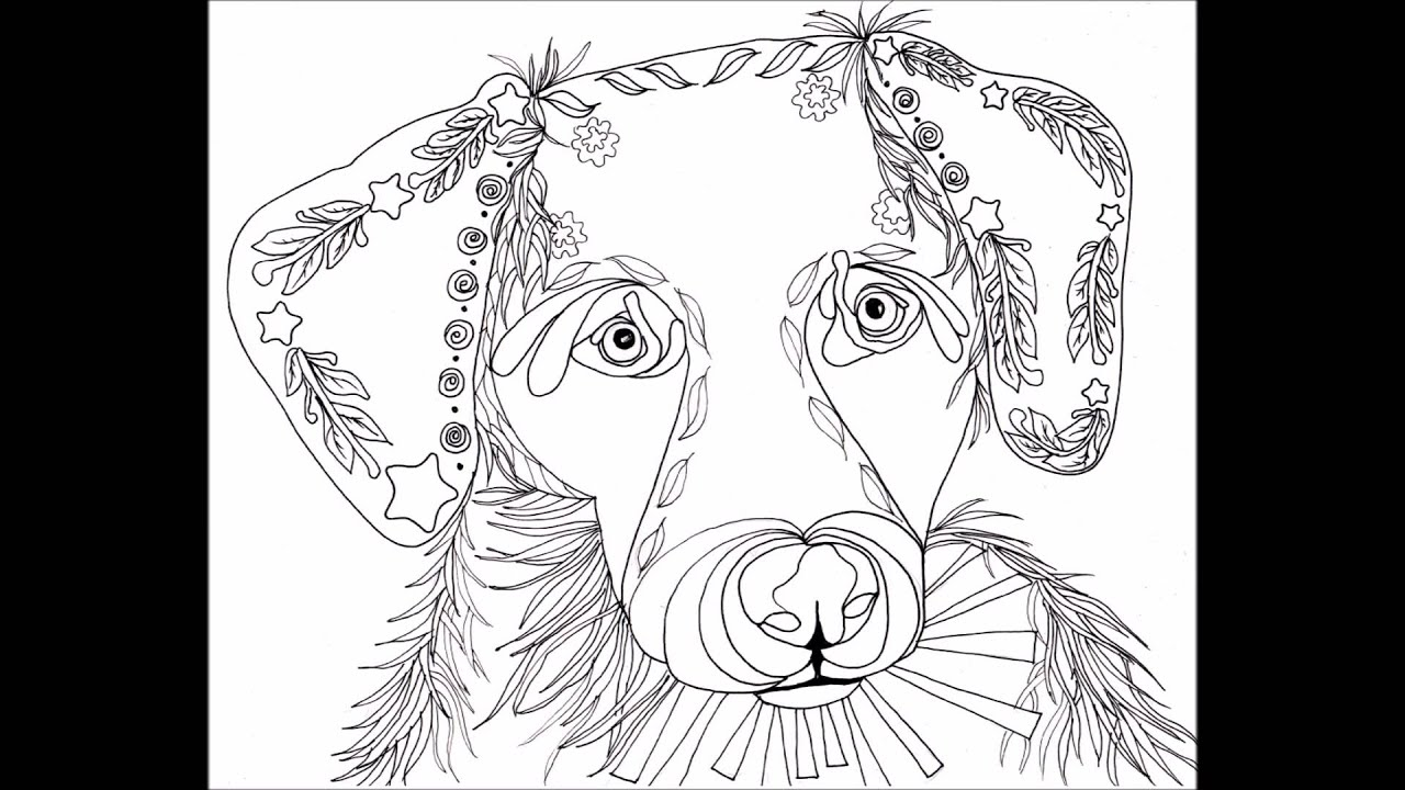 love puppies coloring book for adults youtube
