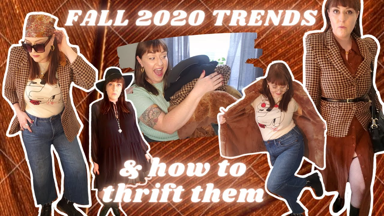 FALL 2020 FASHION TRENDS & HOW TO THRIFT THEM! +TOP 5 TRENDS+