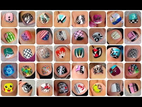 ♥ 45 Toe Nail Art Design Tutorials | Nail Art Compilation ♥