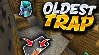 The OLDEST TRAP in MINECRAFT - Minecraft SKYWARS TROLLING