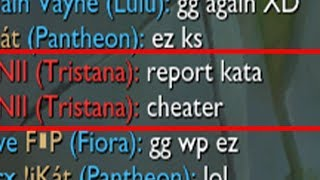 """I GOT REPORTED FOR """"CHEATING"""" [LOL]"""