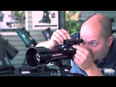 How to Use the Orion GoScope III 70mm Refractor Travel Telescope - Orion Telescopes