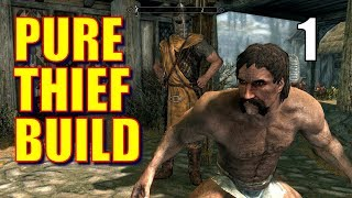 Skyrim Pure Thief Walkthrough 100% STOLEN LOOT Part 1 - Rules of EnGANKment