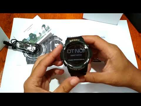 No.1 F6 Smartwatch Review and Unboxing