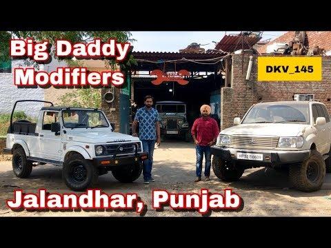 Modified Gypsy | Or | Land Cruiser | Bumper | Big Daddy Modifiers |  Jalandhar | Punjab | DKV_145