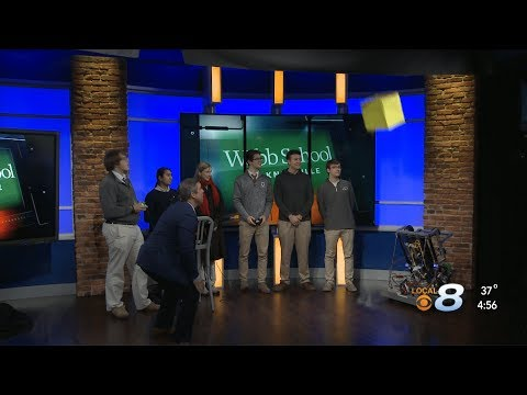 Webb Robotics FIRST Team 1466 on Local News