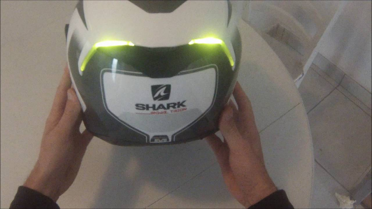 Helmet Shark Skwal A Led Youtube