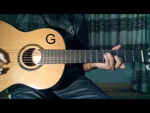 KHAAB (AKHIL) || GUITAR TUTORIAL || CHORDS || RYTHM || LEADS