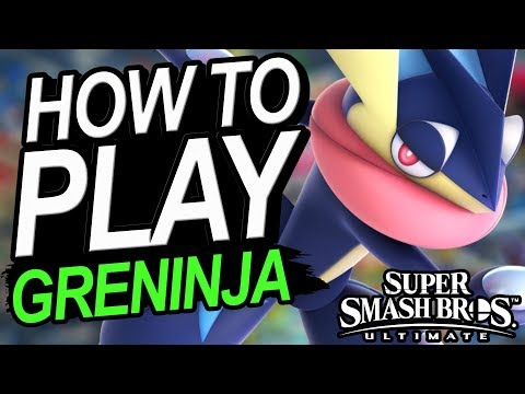 How To Play GRENINJA - A Starter's Guide | Super Smash Bros. Ultimate