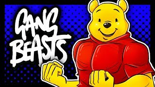 DON'T MESS WITH WINNIE THE POOH! | Gang Beasts: Funny Moments