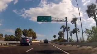 driving from st petersburg to bradenton florida on i275 and i75