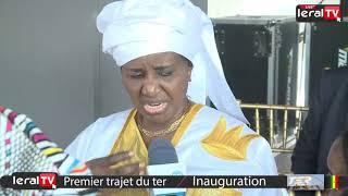 """Mariama Sarr : """" Le Ter va révolutionner le transport dans la capitale sénégalaise"""""""