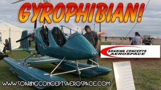 autogyro mto gryoplane gyrophibian amphibious autogyro soaring concepts aerospace