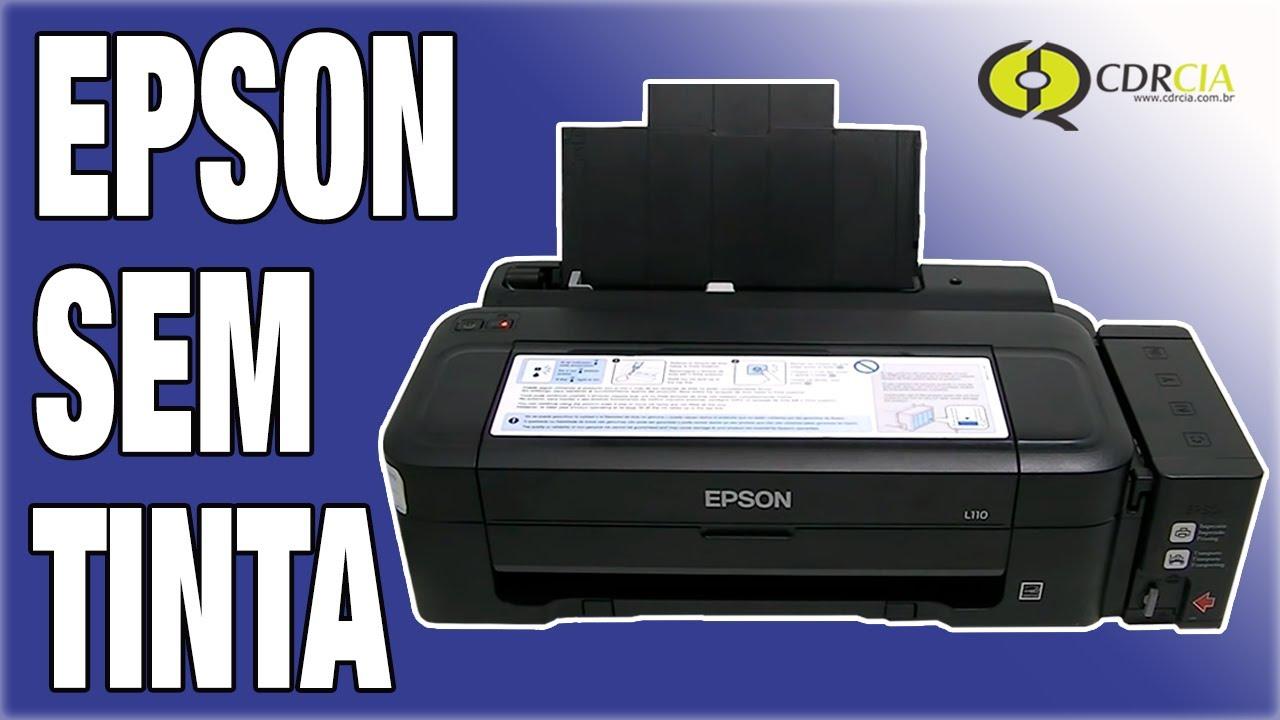 Reset Manual das Tintas Epson L110, L210, L300, L355