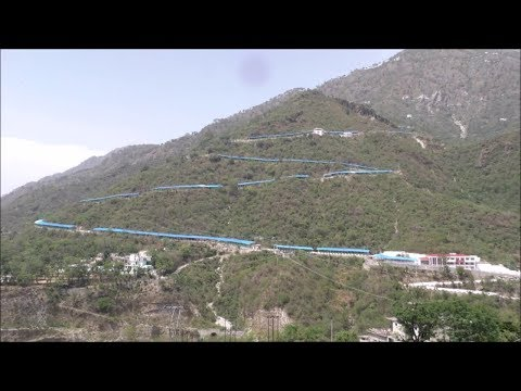 Successful trial of additional  track for  Vaishno Devi