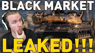 BLACK MARKET LEAKED IN WORLD OF TANKS!!!