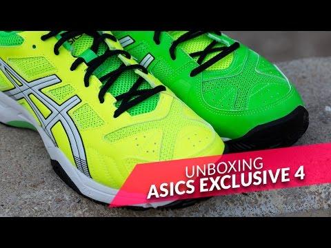 Asics Gel Pádel Exclusive 4 SG Verde Amarillo