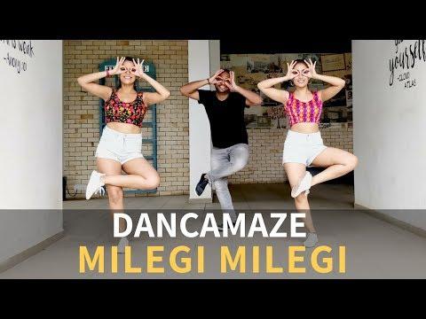 Milegi Milegi | Dancamaze | Stree | Bollywood Choreography | Dance Cover
