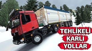 KARLI YOLLAR ÇOK TEHLİKELİ!!!