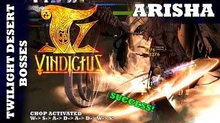 Vindictus - Twilight Desert Bosses - Arisha
