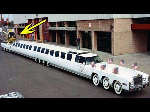 दुनिया की सबसे लम्बी कार, जिसके ऊपर हेलीकाप्टर भी हो जाता है लैंड   world's longest car