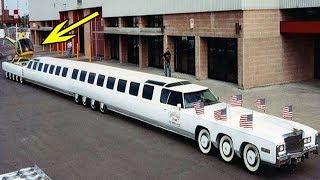 दुनिया की सबसे लम्बी कार, जिसके ऊपर हेलीकाप्टर भी हो जाता है लैंड | world's longest car