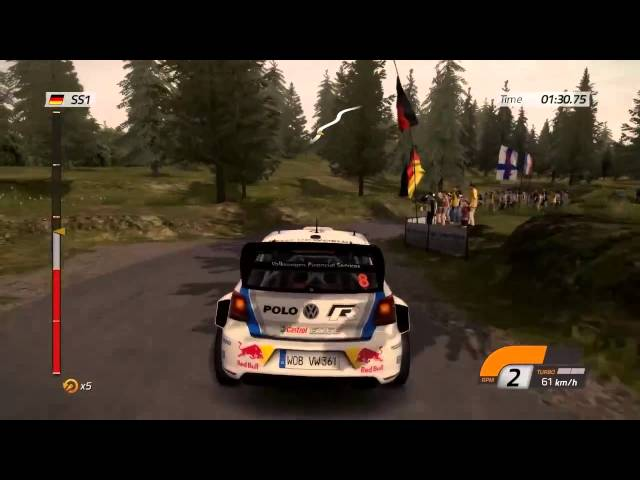 WRC 4 - Official Gameplay Trailer 2