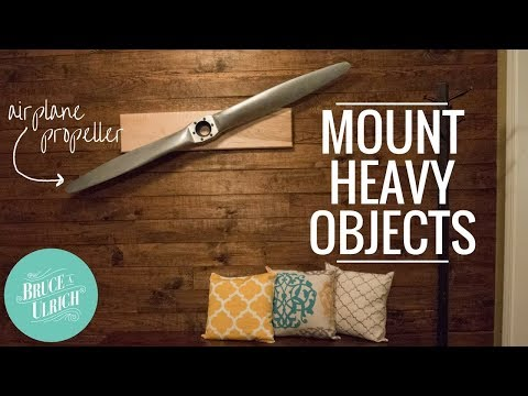 Wall Mount for Heavy Items // How to Make