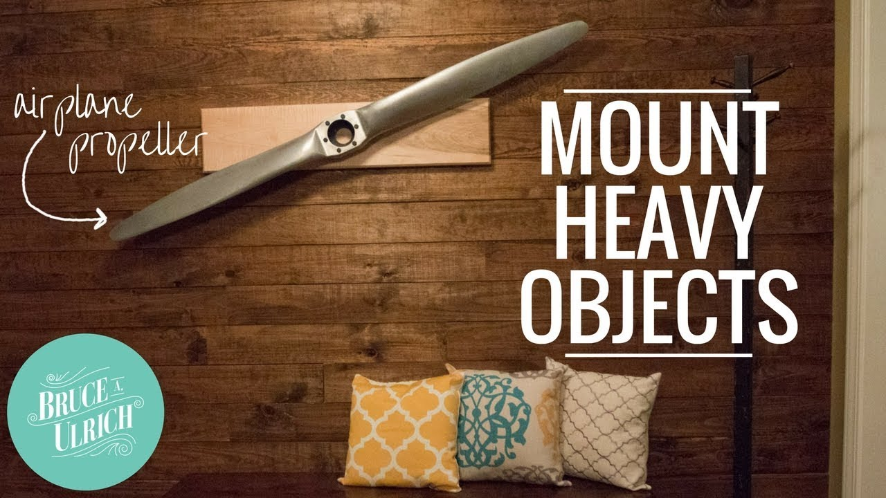 Wall Mount For Heavy Items How To Make Youtube