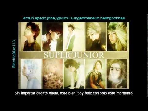 Super Junior - A 'Good'bye (Sub español + Romanización)