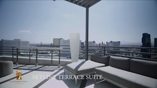 A Virtual Tour of a Skyline Terrace Suite at MGM G...
