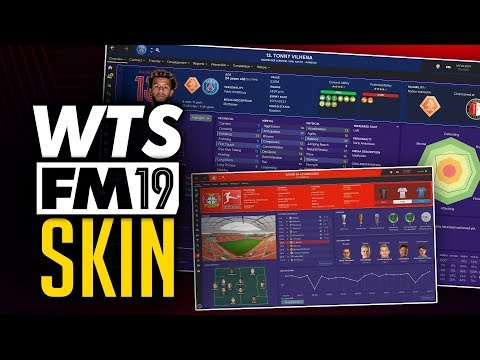 WorkTheSpace Football Manager 2019 Skin + Install Guide #FM19