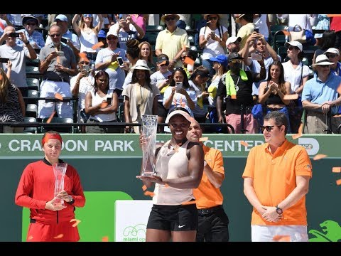 2018 Miami Final | Jelena Ostapenko vs. Sloane Stephens | WTA Highlights