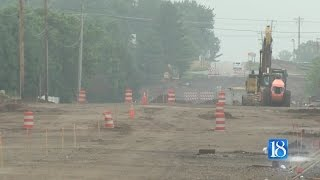 New road closures for phase two of South 18th Street construction