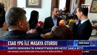 Esad YPG ile masaya oturdu
