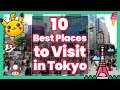 10 Best Places to Visit in Tokyo! [Watch This Before You Go] | bondLingo selection