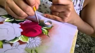 Pintura em tecido com Lozangela Ferreira
