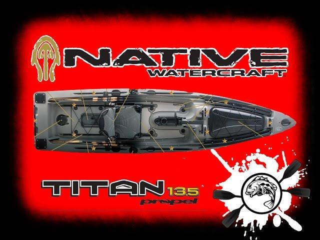 WOW Have You SEEN This KAYAK!! - Native Watercraft Titan