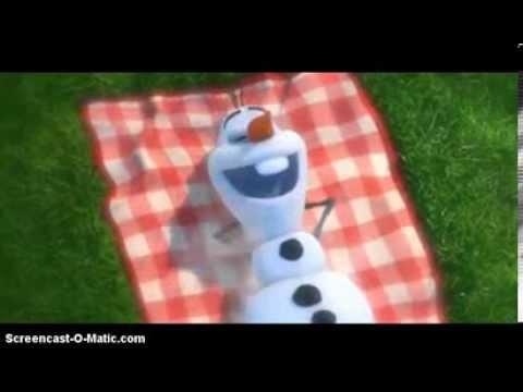 """Disney Frozen """"In Summer"""" -:Olaf - YouTube"""