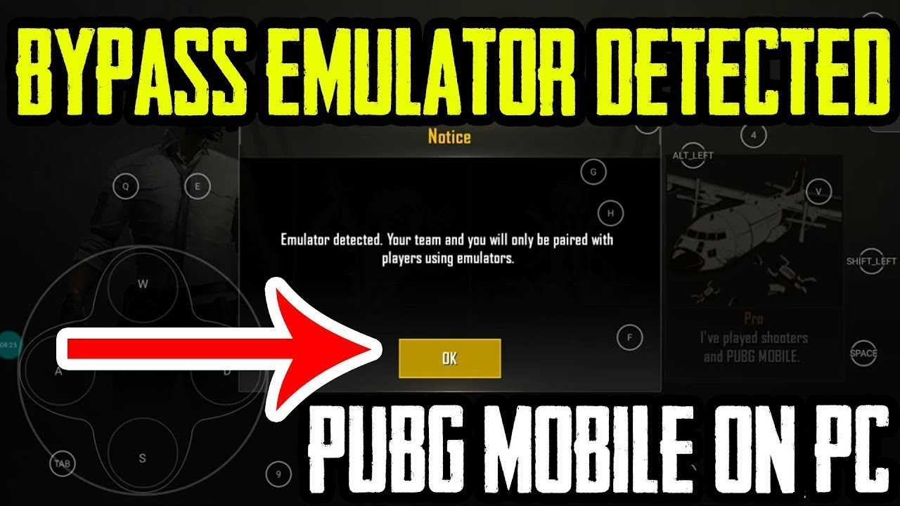 PUBG EMULATOR DETECTION BYPASS