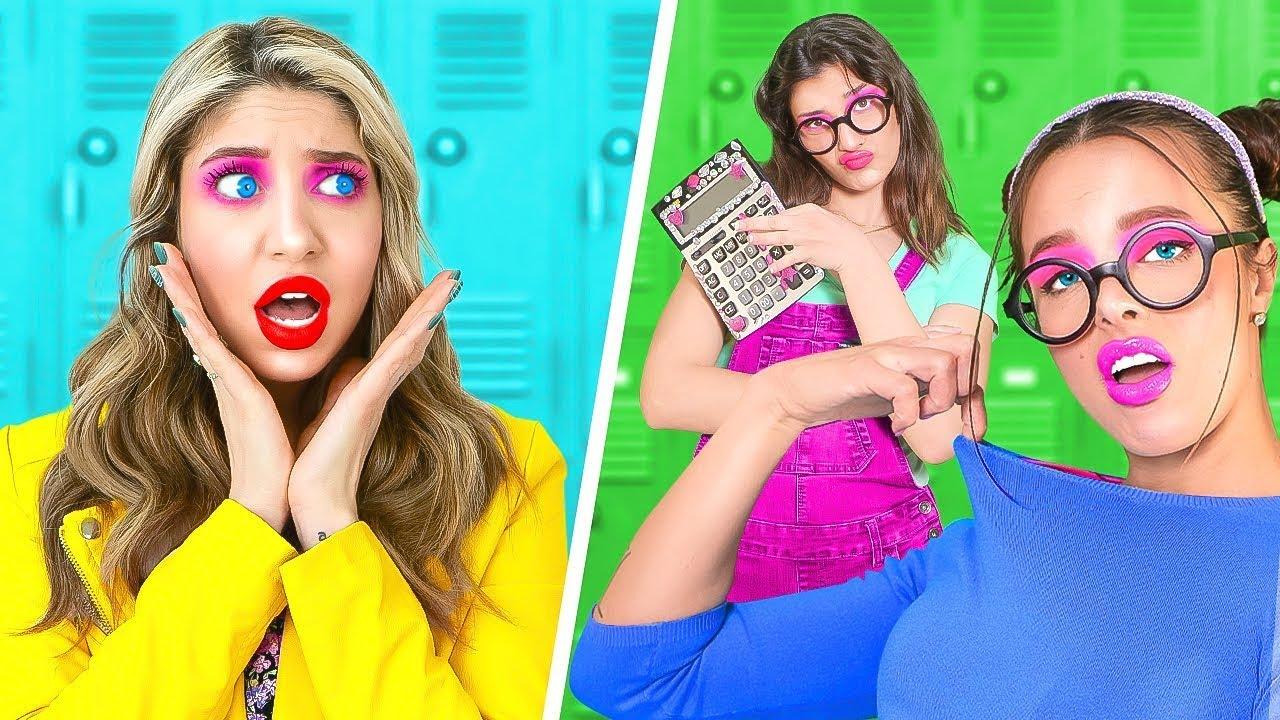 書呆 vs 書呆 | 在學校如何又酷又受歡迎 | 啦啦fun生活音樂劇爆笑校園時刻