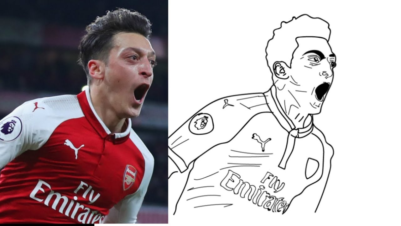 The Erasure of Arsenal's Mesut zil