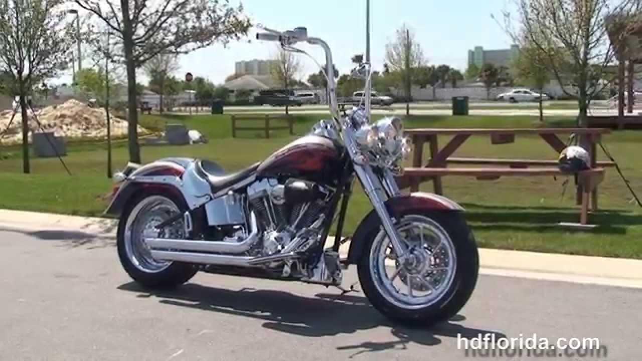 used 2006 harley davidson fatboy motorcycles for sale jacksonville fl youtube. Black Bedroom Furniture Sets. Home Design Ideas